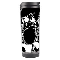 Special Fractal 04 B&w Travel Tumbler