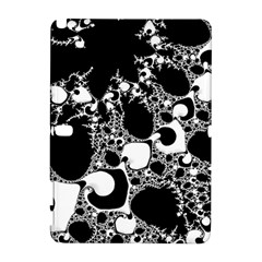 Special Fractal 04 B&w Samsung Galaxy Note 10 1 (p600) Hardshell Case
