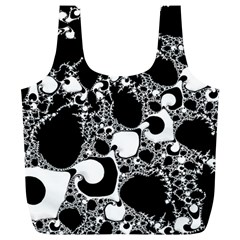 Special Fractal 04 B&w Reusable Bag (XL)