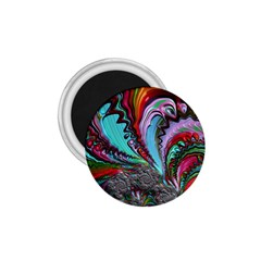 Special Fractal 02 Red 1.75  Button Magnet