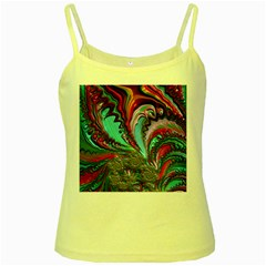 Special Fractal 02 Red Yellow Spaghetti Tank