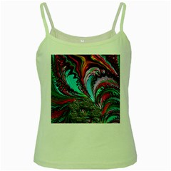 Special Fractal 02 Red Green Spaghetti Tank