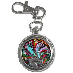 Special Fractal 02 Red Key Chain Watch