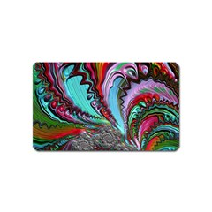 Special Fractal 02 Red Magnet (name Card)