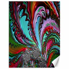 Special Fractal 02 Red Canvas 12  x 16  (Unframed)