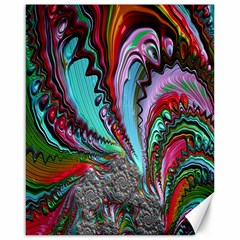 Special Fractal 02 Red Canvas 16  x 20  (Unframed)