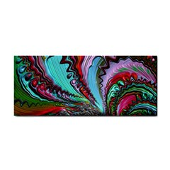 Special Fractal 02 Red Hand Towel