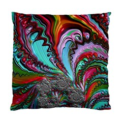 Special Fractal 02 Red Cushion Case (Single Sided)