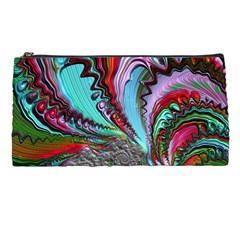 Special Fractal 02 Red Pencil Case