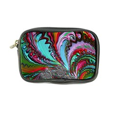 Special Fractal 02 Red Coin Purse