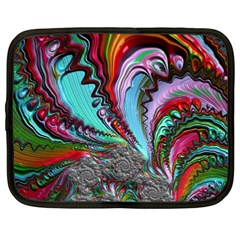 Special Fractal 02 Red Netbook Sleeve (XXL)