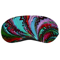 Special Fractal 02 Red Sleeping Mask