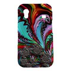 Special Fractal 02 Red Samsung Galaxy Ace S5830 Hardshell Case