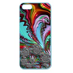 Special Fractal 02 Red Apple Seamless Iphone 5 Case (color)