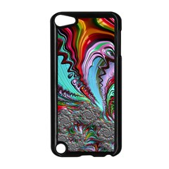 Special Fractal 02 Red Apple iPod Touch 5 Case (Black)