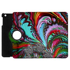 Special Fractal 02 Red Apple Ipad Mini Flip 360 Case