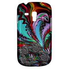 Special Fractal 02 Red Samsung Galaxy S3 Mini I8190 Hardshell Case