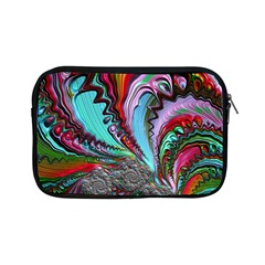 Special Fractal 02 Red Apple iPad Mini Zippered Sleeve