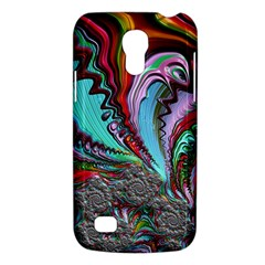 Special Fractal 02 Red Samsung Galaxy S4 Mini (gt I9190) Hardshell Case