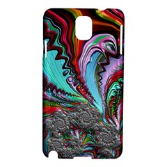 Special Fractal 02 Red Samsung Galaxy Note 3 N9005 Hardshell Case
