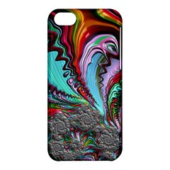 Special Fractal 02 Red Apple Iphone 5c Hardshell Case