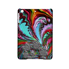 Special Fractal 02 Red Apple Ipad Mini 2 Hardshell Case