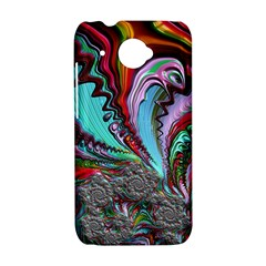 Special Fractal 02 Red HTC Desire 601 Hardshell Case