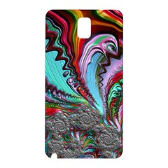 Special Fractal 02 Red Samsung Galaxy Note 3 N9005 Hardshell Back Case