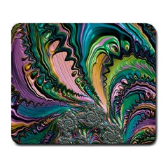 Special Fractal 02 Purple Large Mouse Pad (Rectangle)