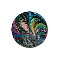 Special Fractal 02 Purple Drink Coasters 4 Pack (Round)