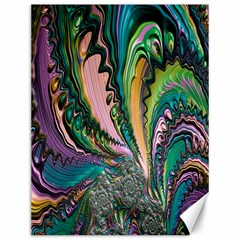 Special Fractal 02 Purple Canvas 12  X 16  (unframed)