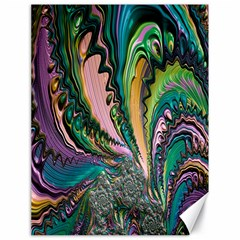 Special Fractal 02 Purple Canvas 18  x 24  (Unframed)