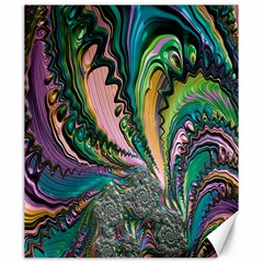 Special Fractal 02 Purple Canvas 20  x 24  (Unframed)