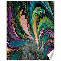 Special Fractal 02 Purple Canvas 11  x 14  (Unframed)