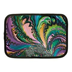 Special Fractal 02 Purple Netbook Sleeve (medium)