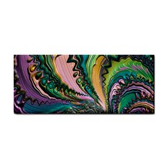 Special Fractal 02 Purple Hand Towel