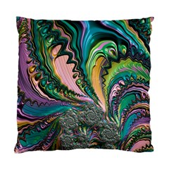 Special Fractal 02 Purple Cushion Case (two Sided)