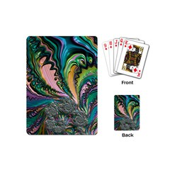 Special Fractal 02 Purple Playing Cards (Mini)