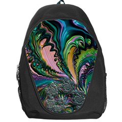Special Fractal 02 Purple Backpack Bag