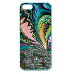 Special Fractal 02 Purple Apple Seamless Iphone 5 Case (color)