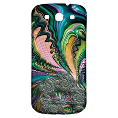 Special Fractal 02 Purple Samsung Galaxy S3 S Iii Classic Hardshell Back Case