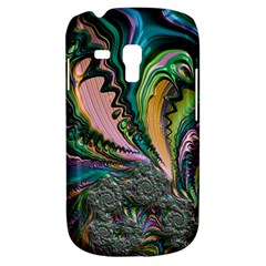 Special Fractal 02 Purple Samsung Galaxy S3 Mini I8190 Hardshell Case