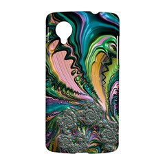 Special Fractal 02 Purple Google Nexus 5 Hardshell Case
