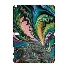 Special Fractal 02 Purple Samsung Galaxy Note 10 1 (p600) Hardshell Case