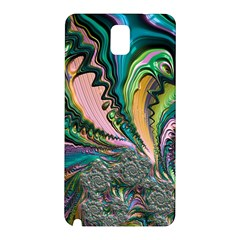 Special Fractal 02 Purple Samsung Galaxy Note 3 N9005 Hardshell Back Case