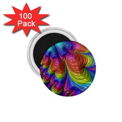 Radiant Sunday Neon 1 75  Button Magnet (100 Pack)