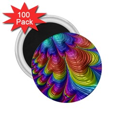 Radiant Sunday Neon 2 25  Button Magnet (100 Pack)