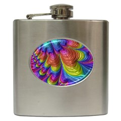 Radiant Sunday Neon Hip Flask