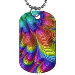 Radiant Sunday Neon Dog Tag (Two-sided)