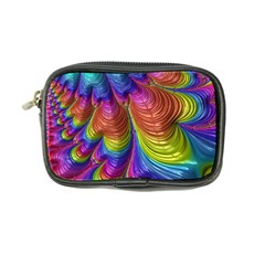 Radiant Sunday Neon Coin Purse